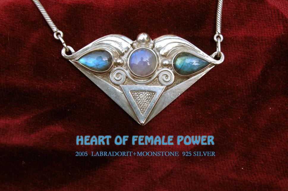 Das Herz der weiblichen Kraft
