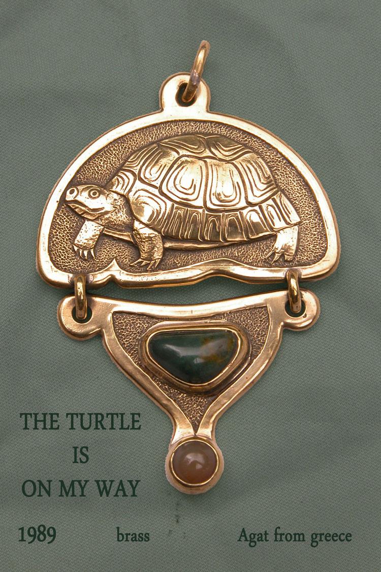 Schildkröte auf meinem Weg