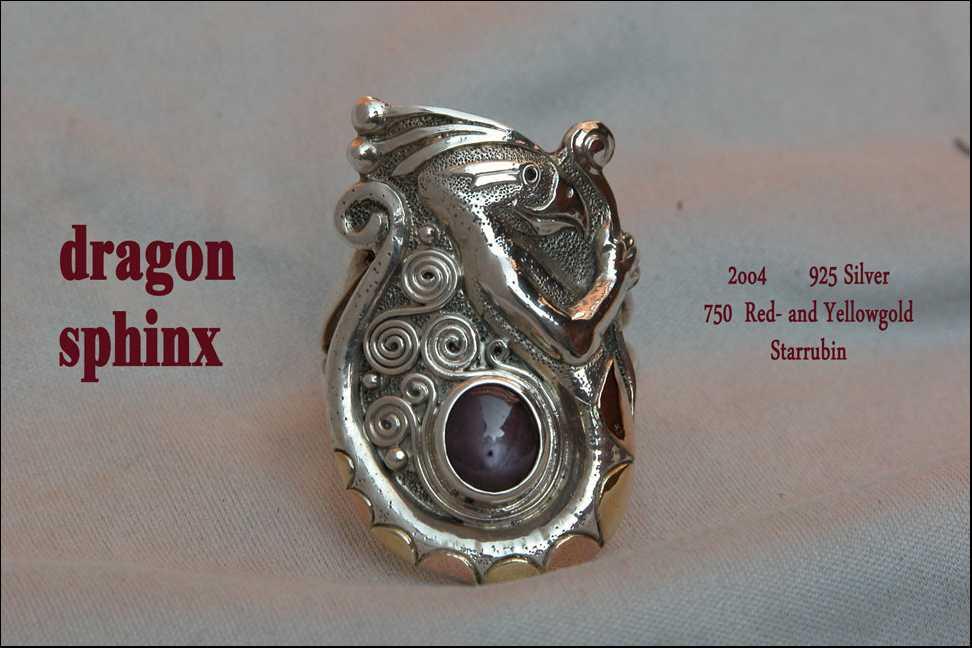 Dragon Sphinx Ring