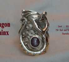 Dragon Sphinx Ring